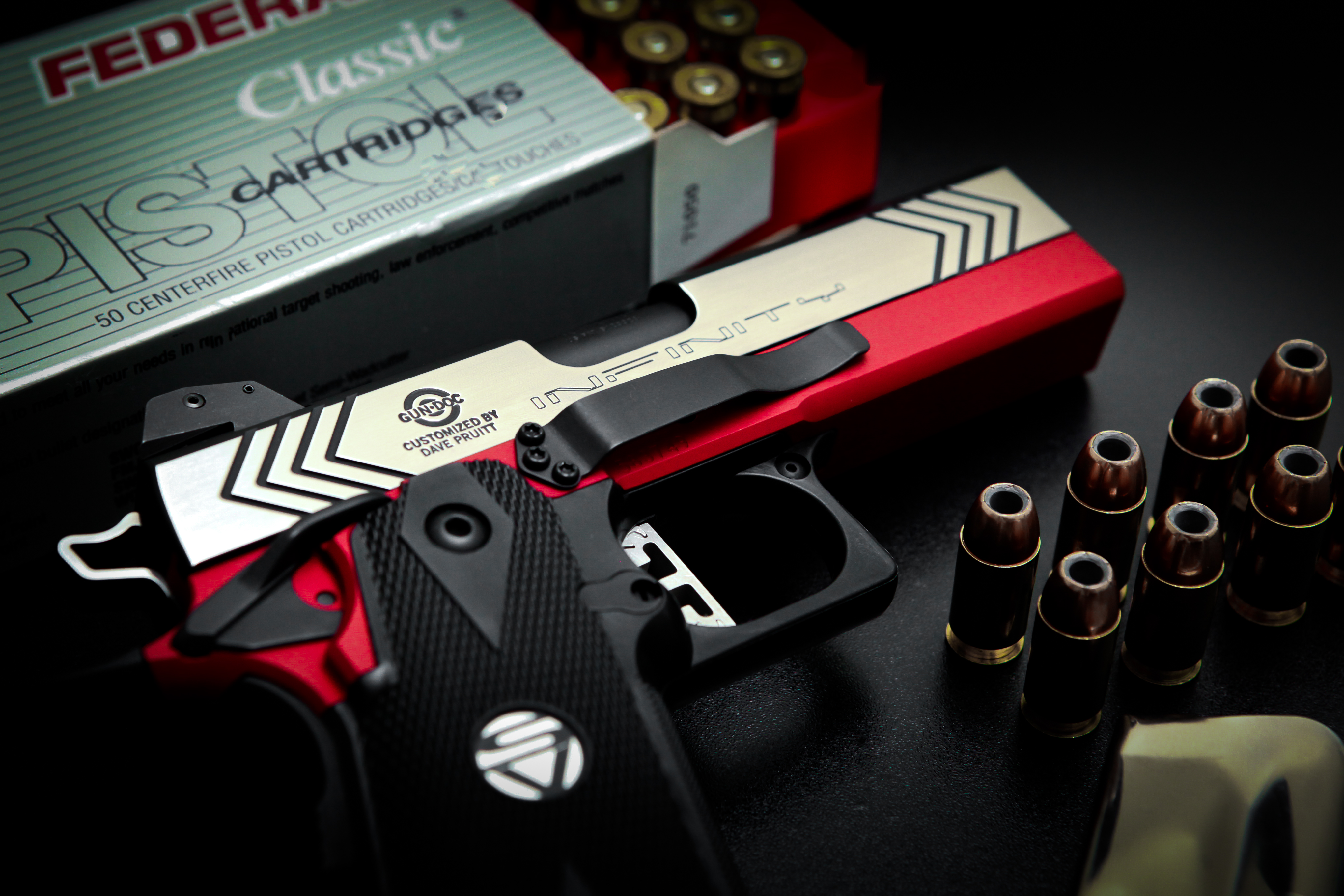 Red 45 acp Built by Dave